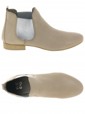 bottines d'ete we do co8476c beige