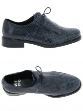 chaussures plates we do 22034 h bleu