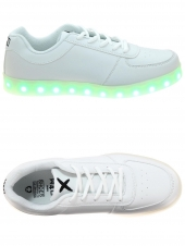 baskets mode wize and ope led-01 blanc