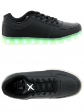 baskets mode wize and ope led-02 noir