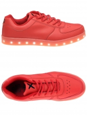 baskets mode wize and ope led-03 rouge