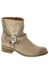 bottines d'ete ykx 074212 road beige