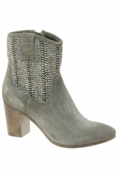 bottines d'ete ykx 275214-mary gris