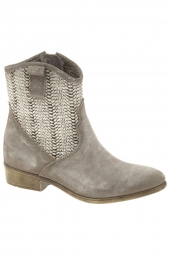 bottines d'ete ykx 386212-mary gris