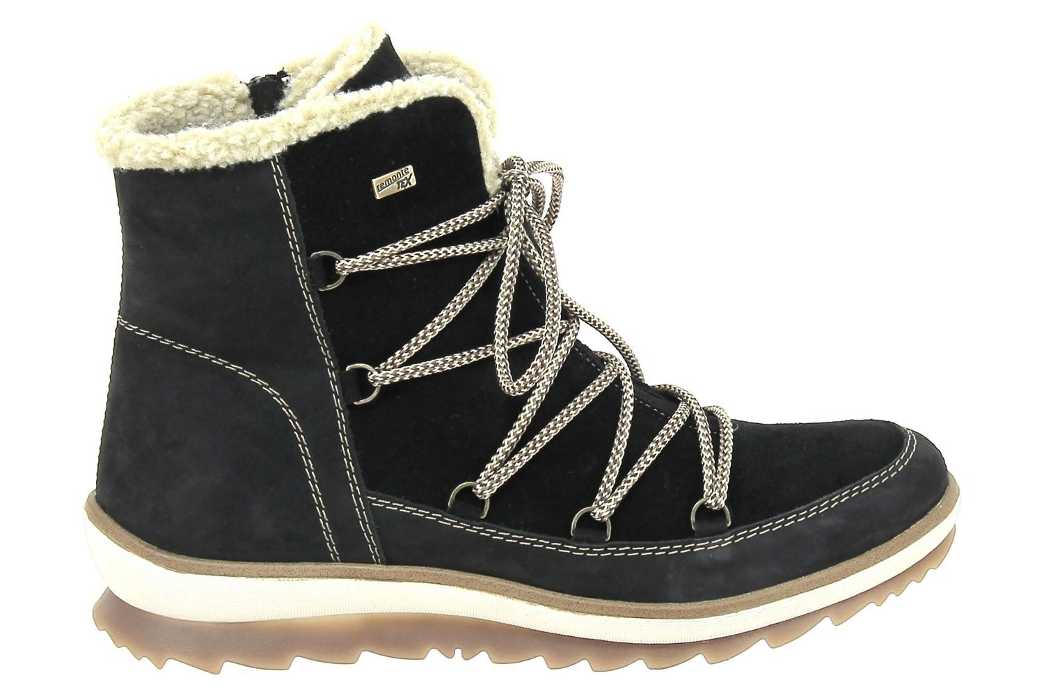 Chaussures Montantes Fourrees Remonte Montantes Noir Montantes Noir Chaussures Remonte Fourrees Fourrees Chaussures AYtw1t