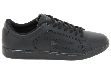 Baskets Homme Noir Chaussures Carnaby Evo Lacoste 10 317 Mode 81rxZ68