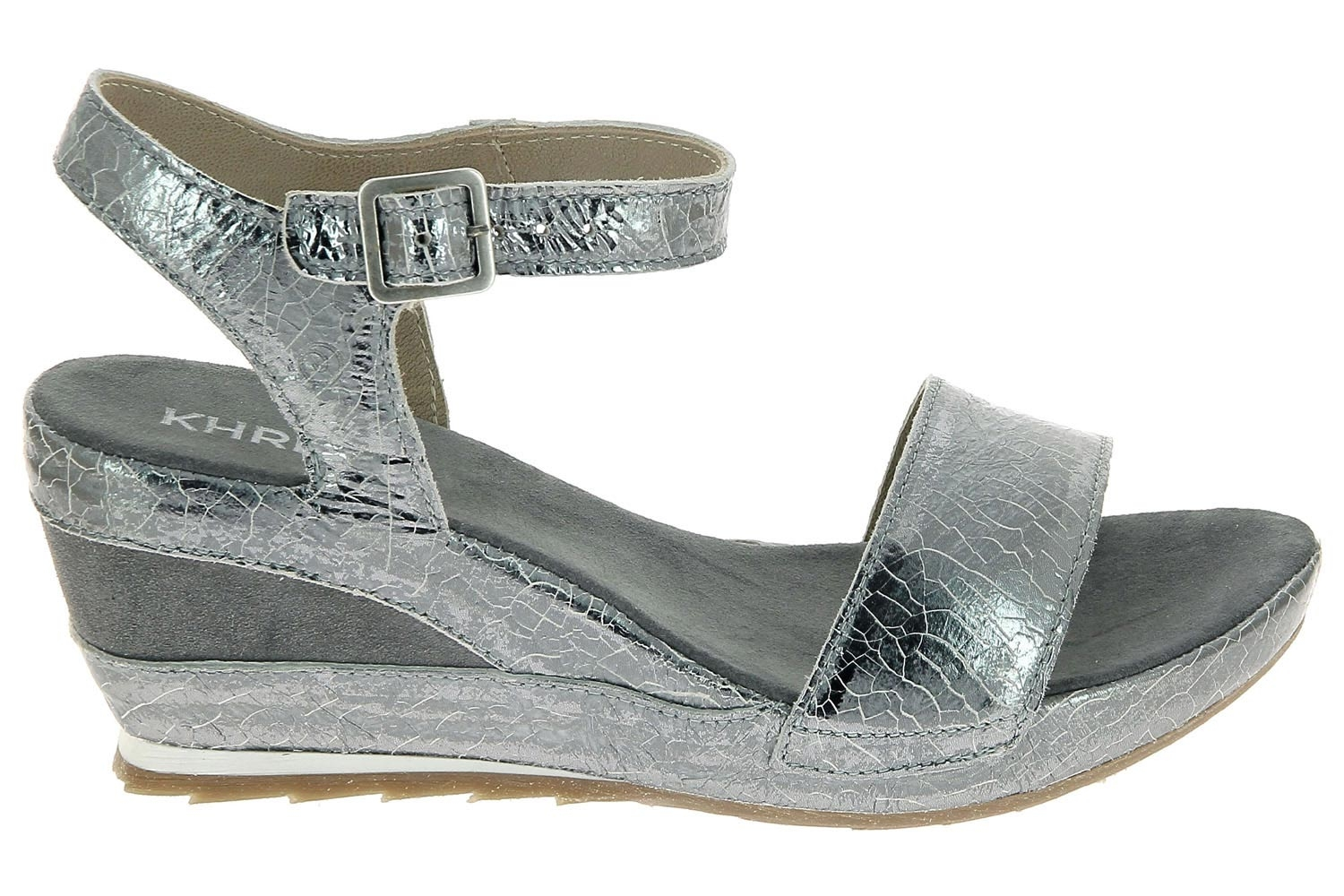 Chaussures Khrio D'ete Argent Nu Pieds 171k2711trsq Style Ville EH2YDW9I