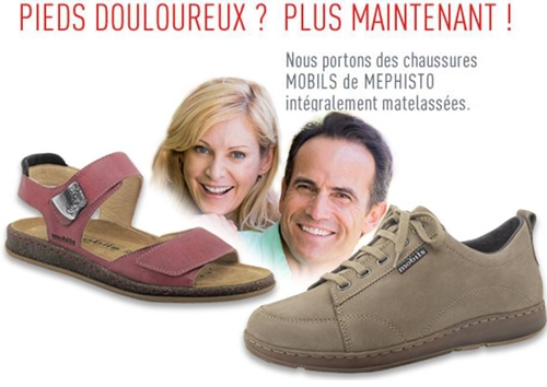 Chaussures plates mephisto mobils gris 0c4d24aa32d