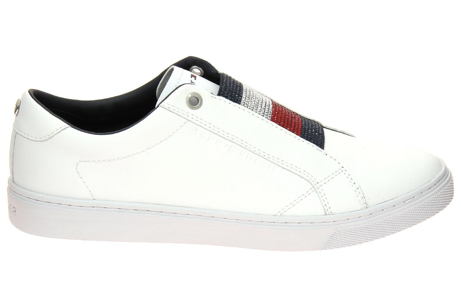 Baskets mode tommy hilfiger blanc fw0fw04513 chaussures