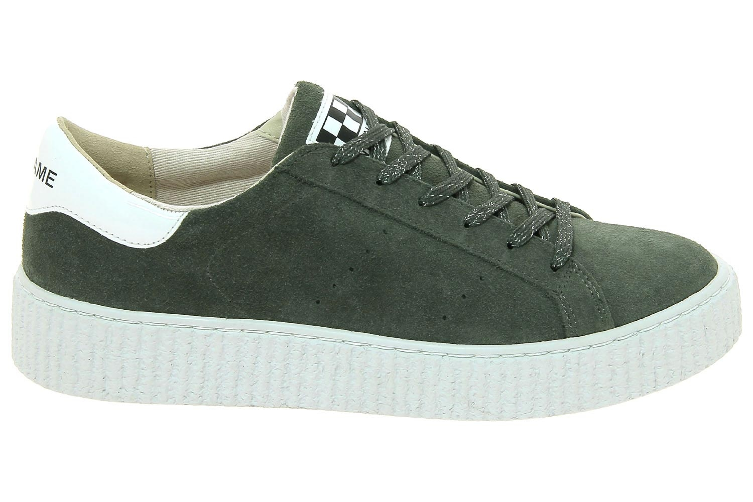 Sneaker Baskets Vert Picadilly Mode Chaussures Femme No Name 53L4qARj