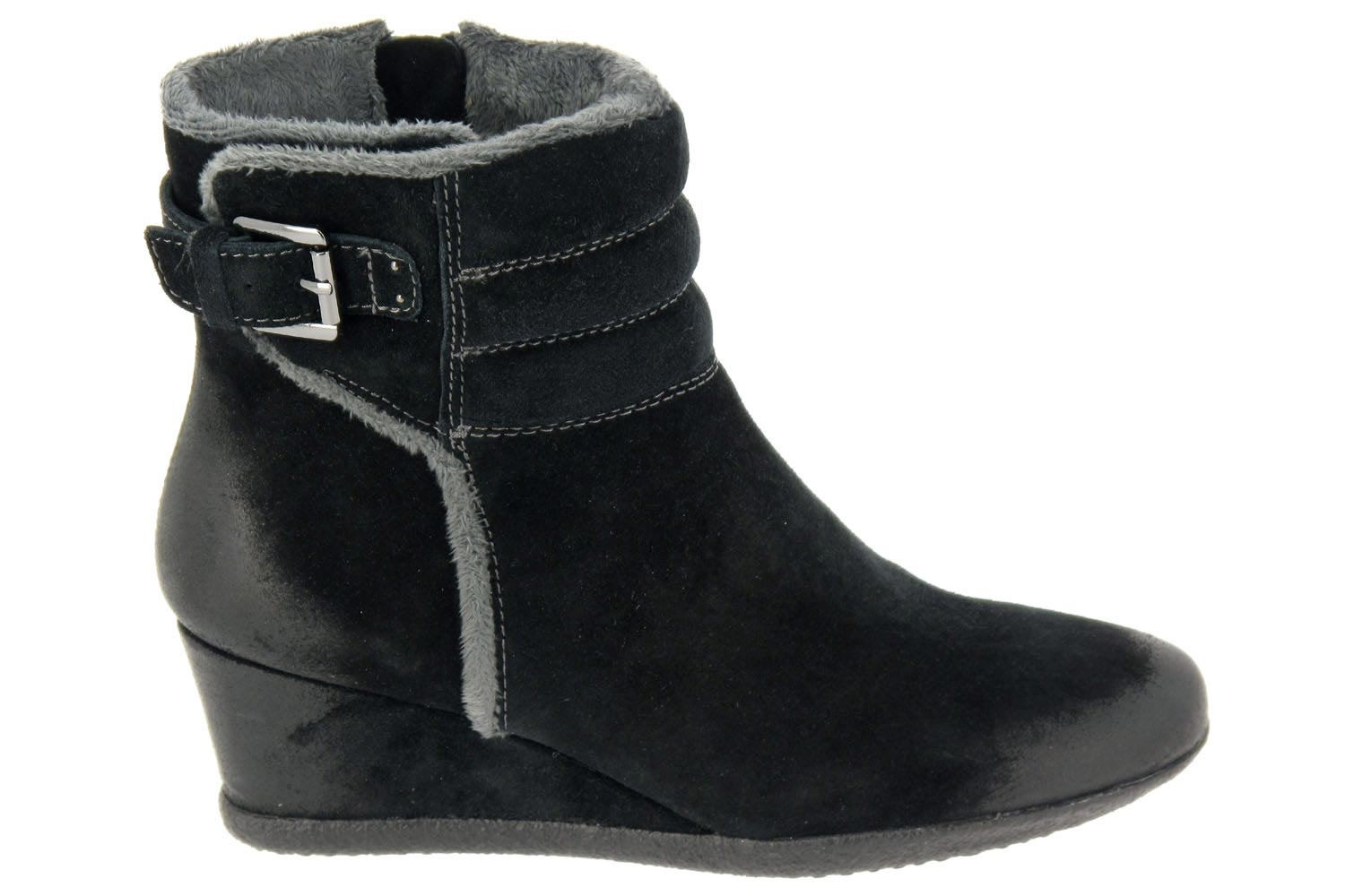 Fourrees Noir Montantes Fourrees Montantes Geox Geox Chaussures Chaussures D9IEH2
