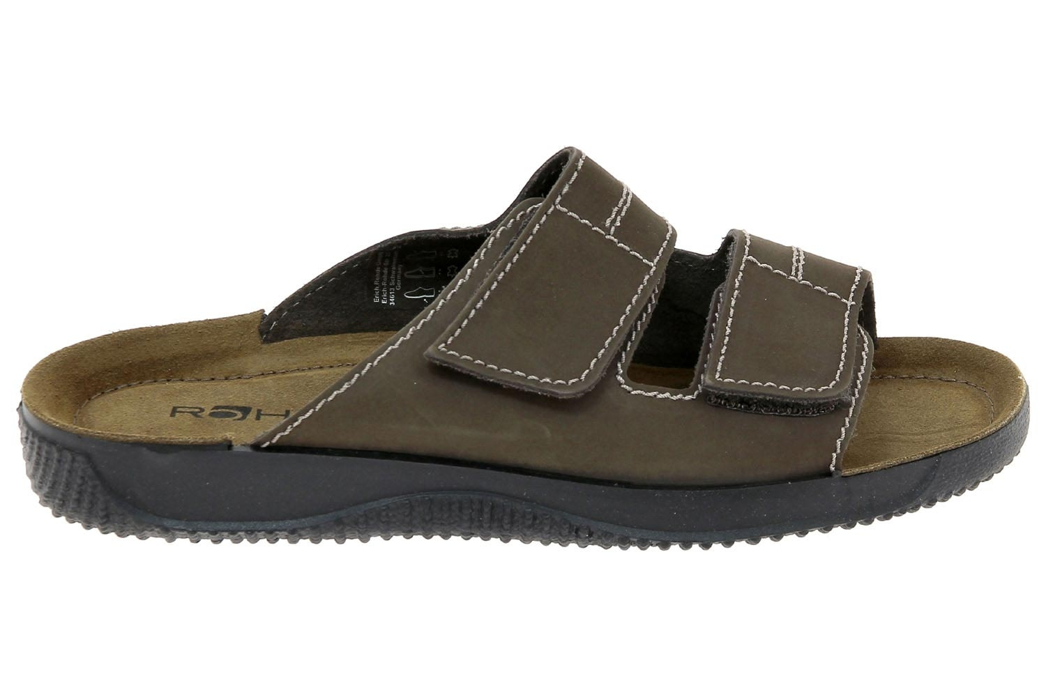 ba24dbbbc7057 Mules casual rohde marron 1987-72 g