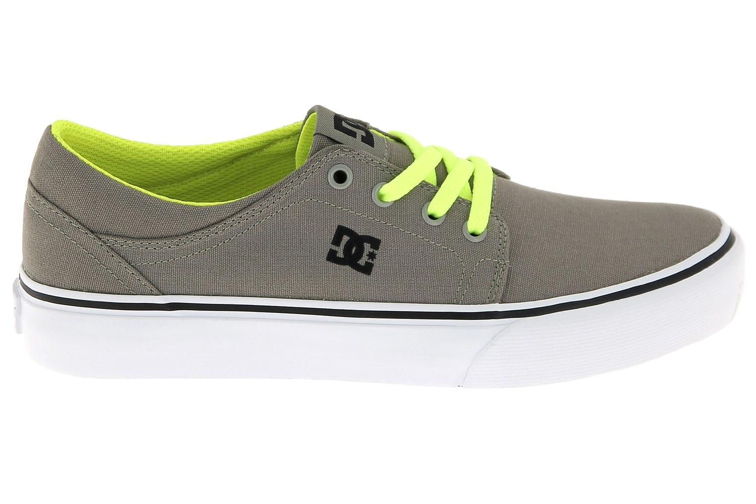4ea7a9eb6ae4c Chaussures de skate dc shoes taupe trase tx chaussures pour garcon ...