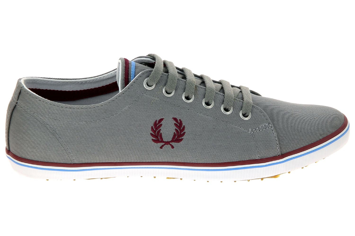 d43dd755c76 Chaussures en toile fred perry gris