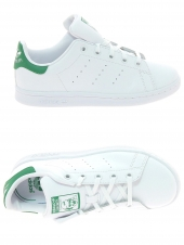 chaussures basses adidas stan smith c blanc