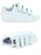chaussures basses adidas stan smith cf c argent