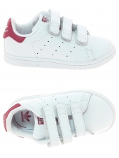 chaussures basses adidas stan smith cf blanc