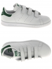 chaussures de sport adidas stan smith cf c blanc