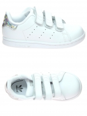 chaussures de sport adidas stan smith cf i blanc