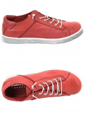 chaussures plates andrea conti 0347805 rouge