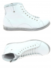 chaussures plates andrea conti 27913 blanc