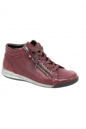 bottines casual ara 44410-17 g bordeaux