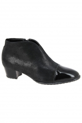 bottines ville ara 42110-85 g noir