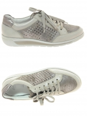 chaussures plates ara 31021-06 h taupe