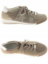 chaussures plates ara 34403-05 g taupe