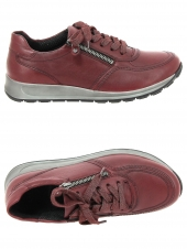 chaussures plates ara 44565-10 h rouge