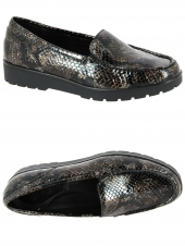 mocassins style detente ara 14803-86-h marron