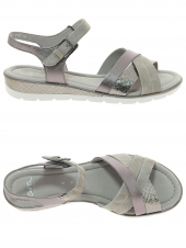 nu-pieds style casual ara 33530-12 h taupe