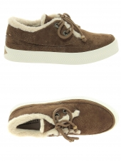 chaussures montantes fourrees armistice sonar indian w marron