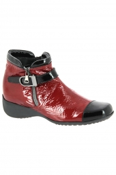bottines casual artika aquitain rouge