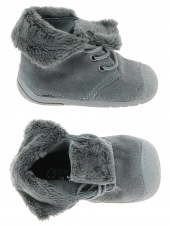 chaussures layette babybotte zouk2 gris