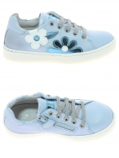 chaussures basses bana & co 45510 vitello bleu