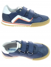 chaussures basses bana & co 46516 vitello bleu