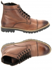 boots ville base london brigade marron