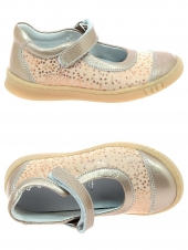 chaussures basses bellamy pandi pois rose