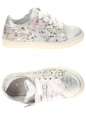 chaussures basses bellamy tade argent