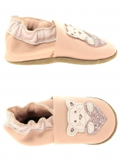 chaussures layette bellamy nounours chair beige