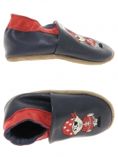 chaussures layette bellamy pirate bleu