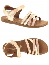nu-pieds bellamy taxi or/bronze