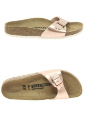 mules birkenstock madrid bf electric or/bronze