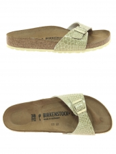 mules birkenstock madrid bf magic or/bronze