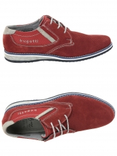 derbies bugatti 311-68404-1400 rouge