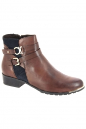 bottines de ville caprice 25309 387g marron