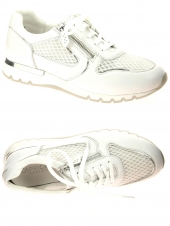 chaussures plates caprice 23700-197 h blanc