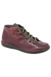 bottines casual chacal 4412 bordeaux