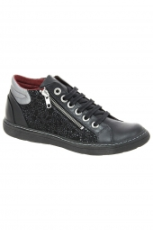 bottines casual chacal 4513 noir